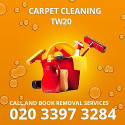 TW20 carpet cleaner Egham