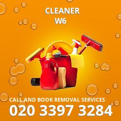W6 cleaner Ravenscourt Park