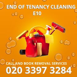end of tenancy cleaners Lea Bridge
