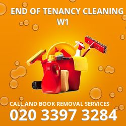 end of tenancy cleaners Soho