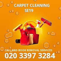 SE19 carpet cleaner Upper Norwood