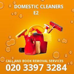 Cambridge Heath domestic cleaners E2