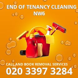 end of tenancy cleaners West Hampstead