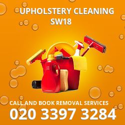 Wandsworth clean upholstery SW18