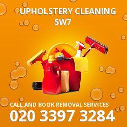 Kensington clean upholstery SW7